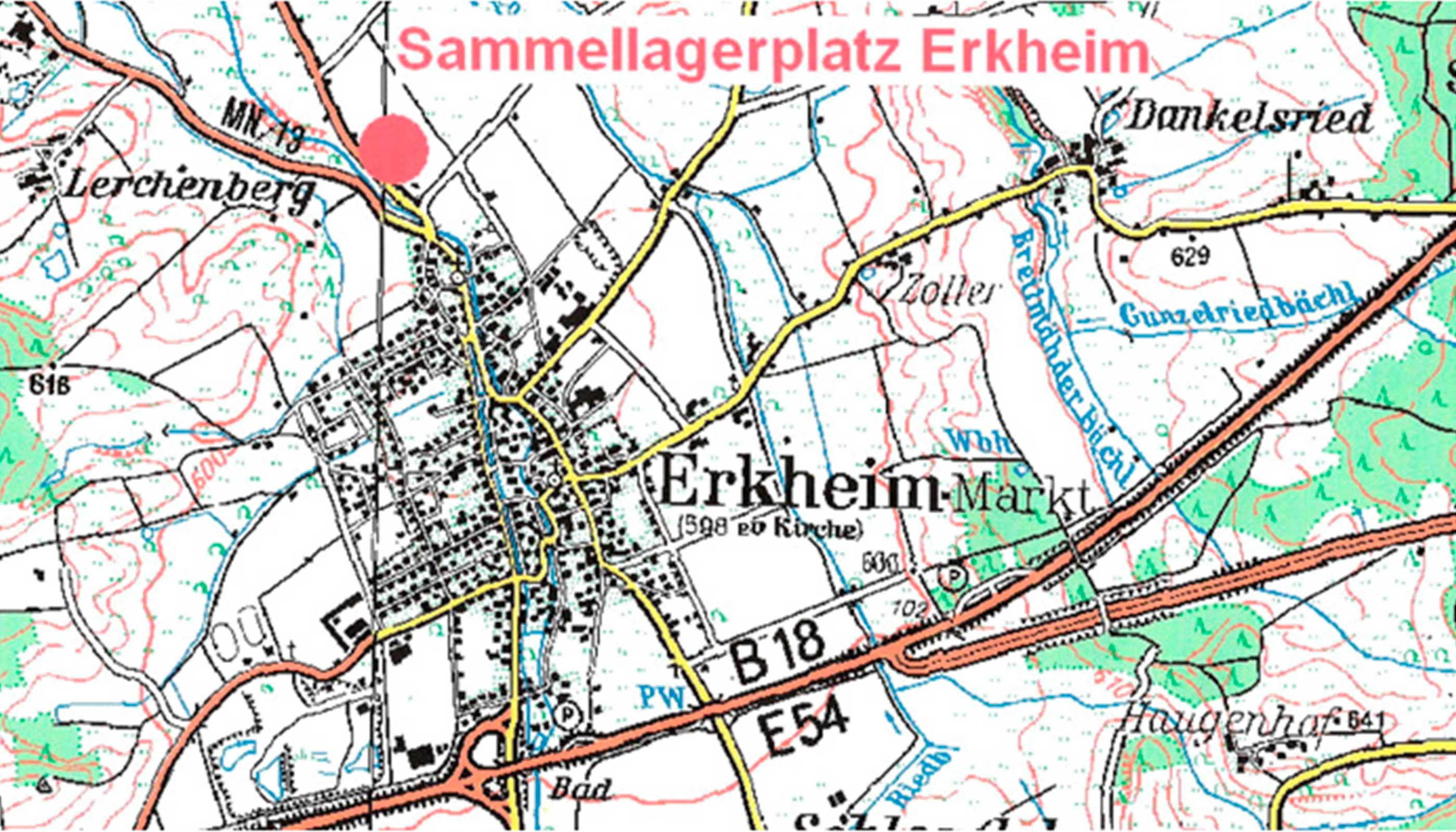 Sammellagerplatz Erkheim