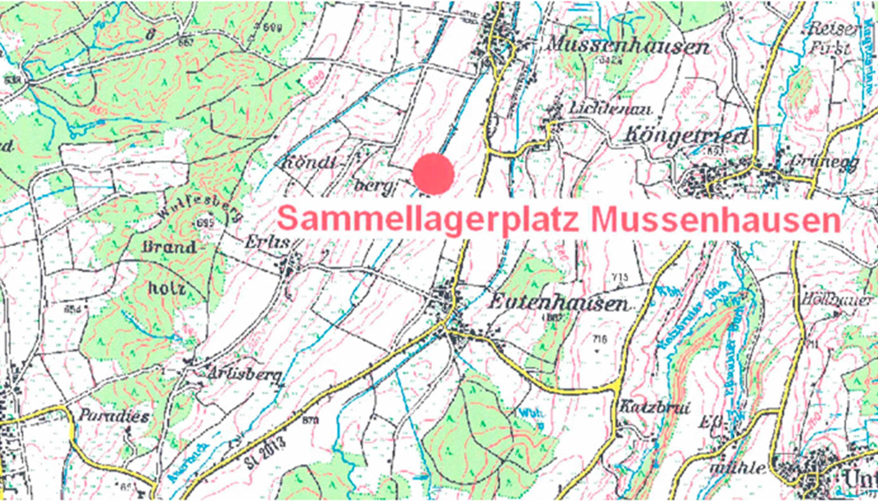 Sammellagerplatz Mussenhausen